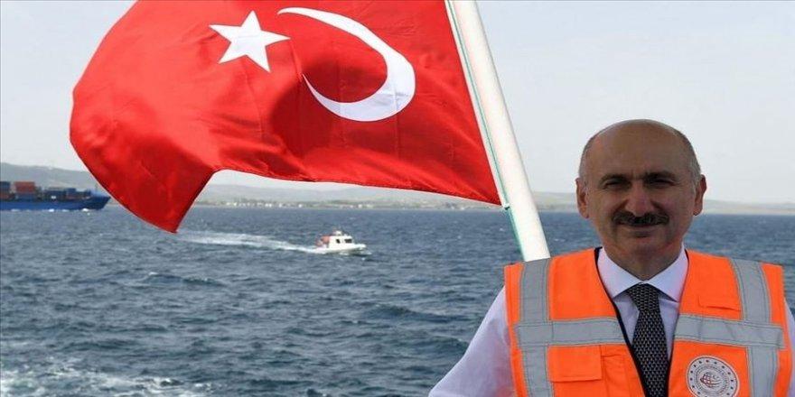 Ulaştırma ve Altyapı Bakanı Karaismailoğlu: Sadece rotasından dolayı bir gemiyi şüpheli ilan edemezsiniz