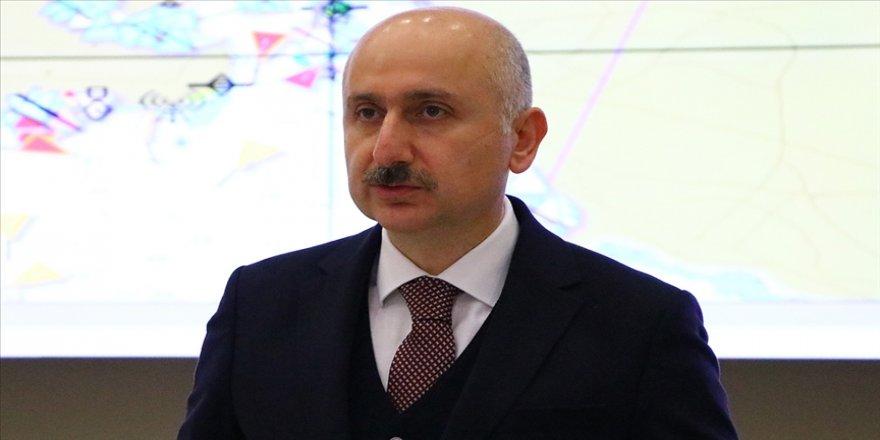 Bakan Karaismailoğlu: Son 18 yılda ulaşım ve iletişim altyapısına 910 milyar lira yatırım yaptık