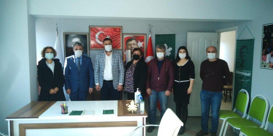 Gelecek Derince,CHP'yi ağırladı