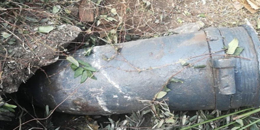 Gebzede  patlamamış eski top mermisi bulundu
