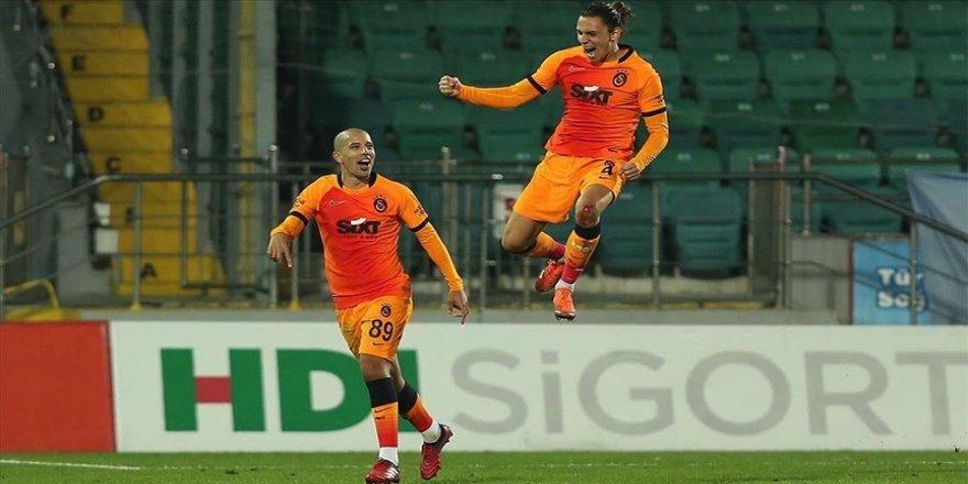 Galatasaray deplasman fobisini yendi