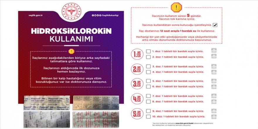 Sağlık Bakanlığının Kovid-19 tedavisinde doğru ilaç kullanımına yönelik broşürleri tüm illere gönderildi