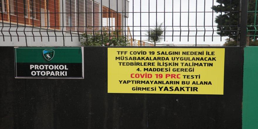 Koronavirüs Kocaelispor'u da vurdu ! Tesisler kapatıldı maçları ertelendi