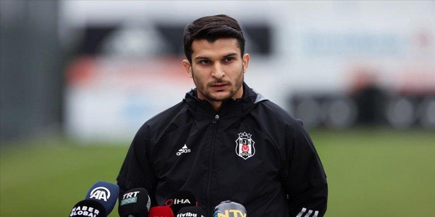 Beşiktaşlı futbolcu Necip Uysal: Bu takım için her şeyimi vereceğim