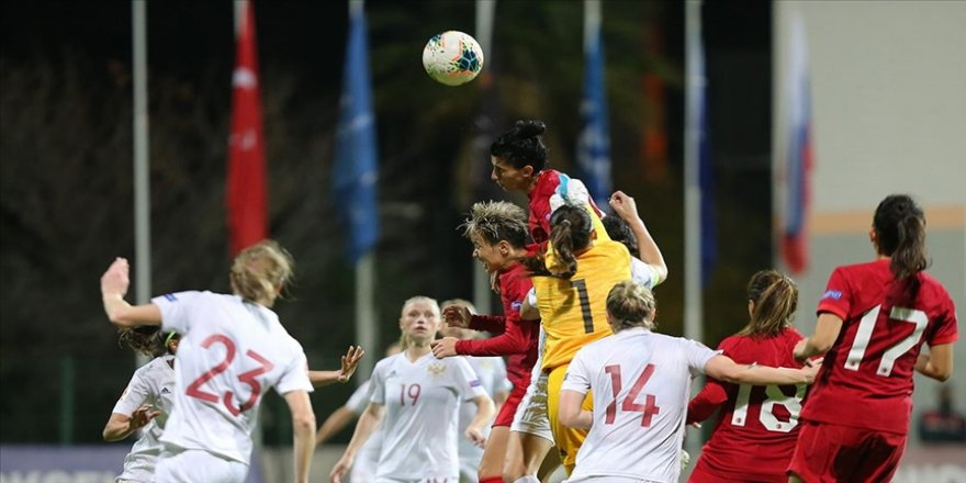 A Milli Kadın Futbol Takımı Rusya'ya 2-1 yenildi