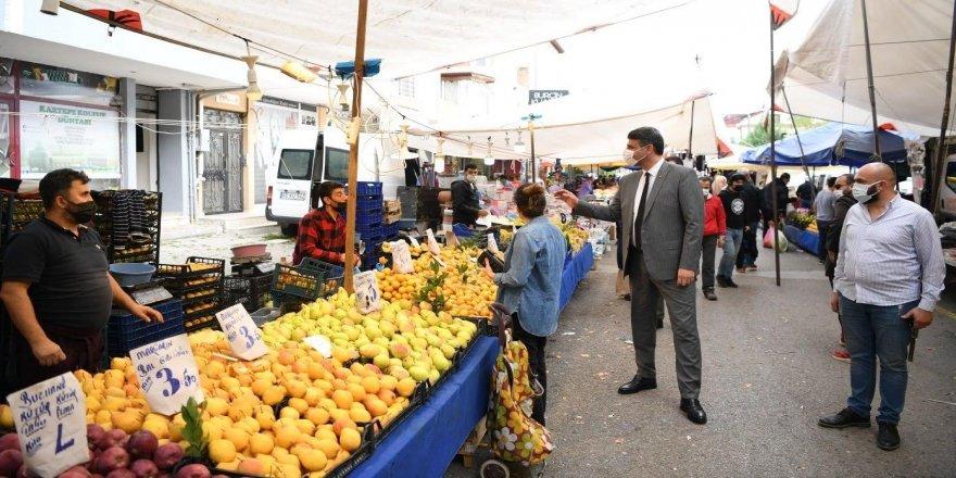 Cumartesi ve Pazar günleri açılan pazarların tarihlerini değiştirildi