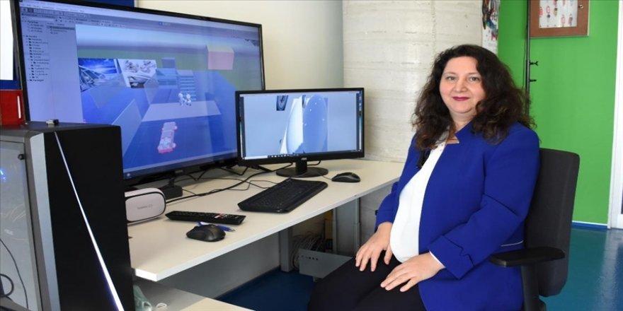 Bilişim öğretmeni uzaktan eğitimi 'sanal gerçeklik' boyutuna taşıdı