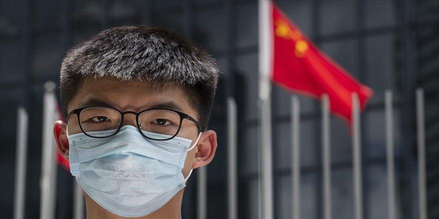 Hong Konglu aktivist Joshua Wong 13 buçuk ay hapis cezasına çarptırıldı