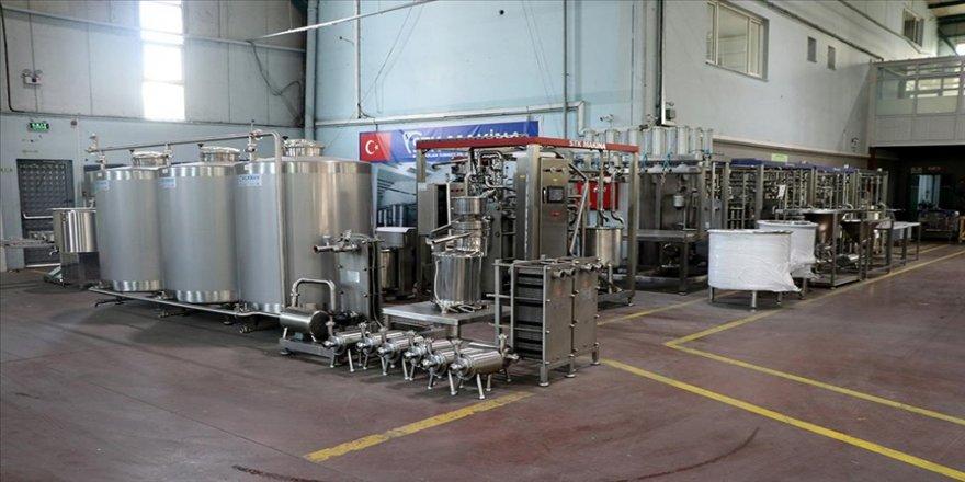Sakarya'dan 71 ülkeye süt ve süt ürünü makineleri ihracatı