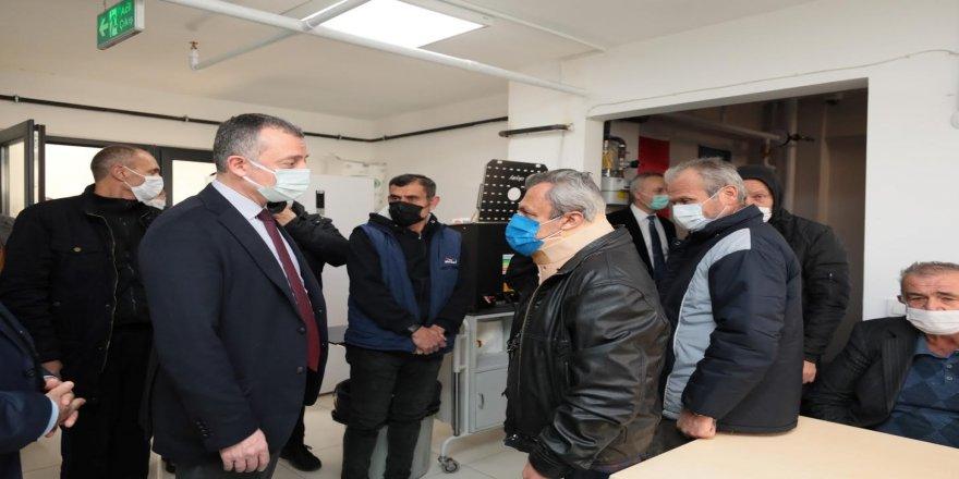 Büyükakın, Gebze'de yeni hizmete giren barınma evini ziyaret etti