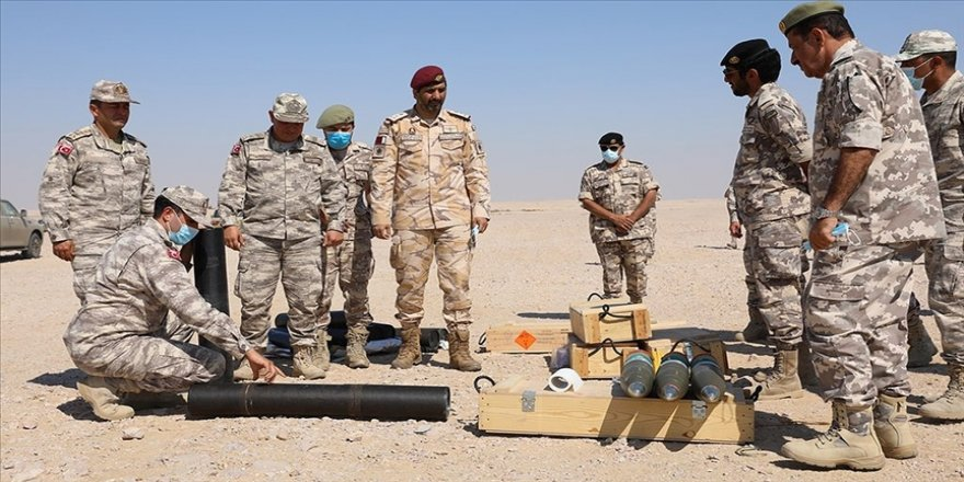 TSK'den Katar Destek Kuvvet Birliğine havan eğitimi