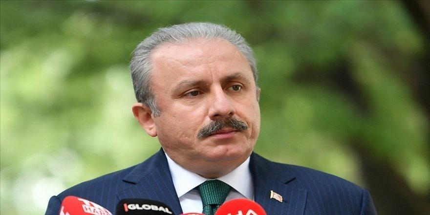 Şentop: Yukarı Karabağ'ı devlet olarak tanıma kararı alan bir parlamento ancak Fransız masallarında yer bulabilir
