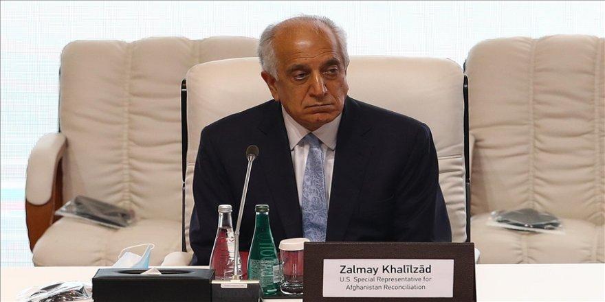 ABD'nin Ankara Büyükelçiliği: Halilzad, Ankara'da Afganistan barış müzakereleri için iş birliği çabalarını ele aldı