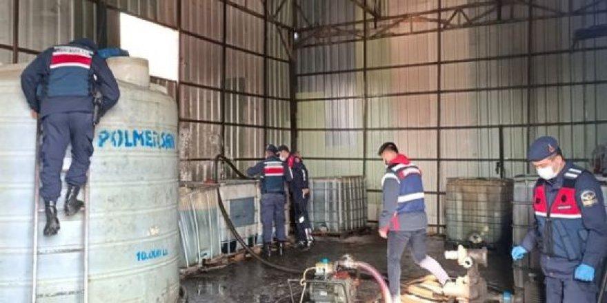 Kocaeli'de 37 ton kaçak akaryakıt ele geçirildi