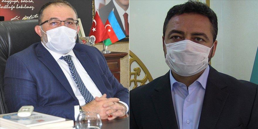 Kovid-19'u yenen Elbistan ve Afşin Belediye Başkanları herkesi önlemlere uymaya çağırdı: Sıhhatimizi korumak zorundayız