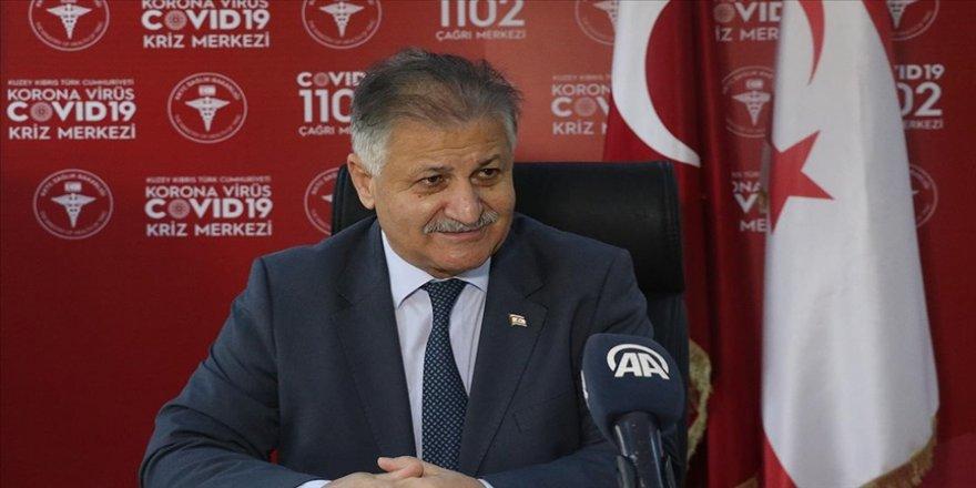 KKTC Sağlık Bakanı Pilli: 15 Ocak'a kadar ilk aşılama işlemi başlayacaktır
