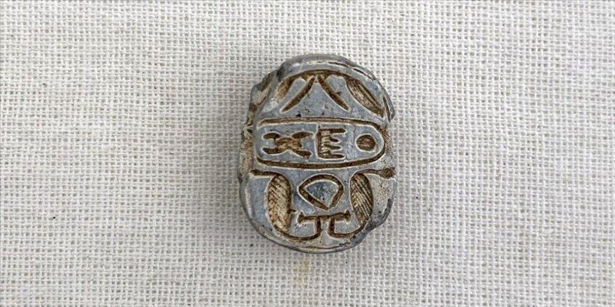 Tokat'taki Komana Pontika Antik Kenti'nde Mısır mührü bulundu