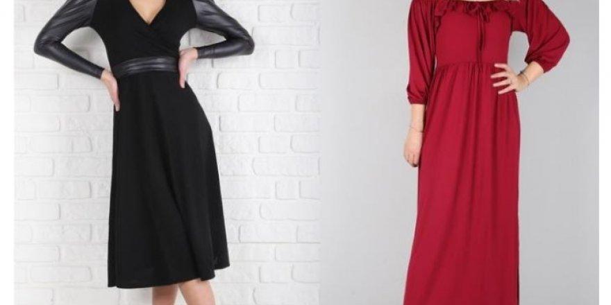 Kadınların Vazgeçilmezi Uzun Elbise Modelleri