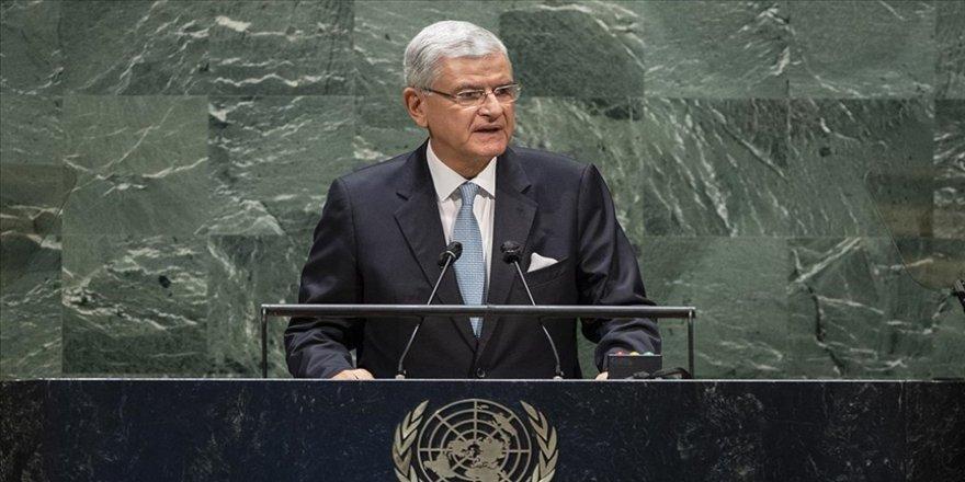 BM Genel Kurulu Başkanı Bozkır: ABD Kongresinde yaşanan gelişmelerden üzüntü ve endişe duydum