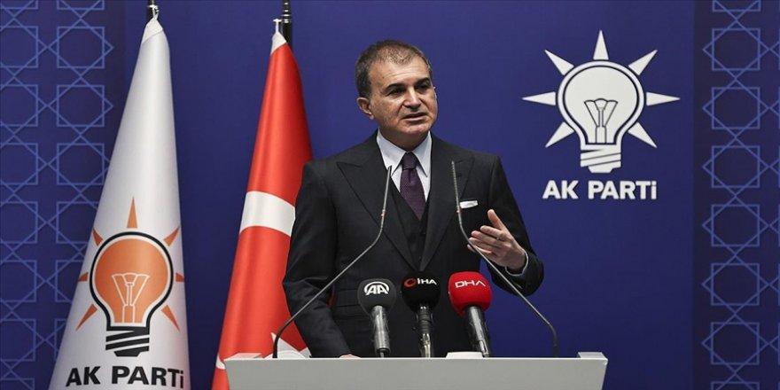 AK Parti Sözcüsü Çelik'ten ABD Kongre Binası baskınına ilişkin paylaşım