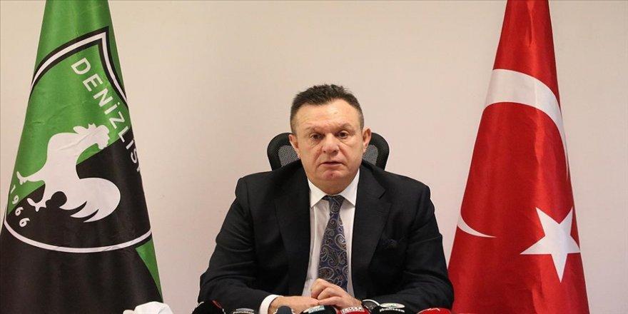Denizlispor Başkanı Çetin: Görevimizi layıkıyla yerine getirmeye devam edeceğiz