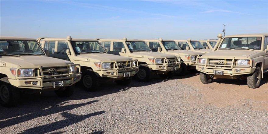 ABD, Peşmerge güçlerine askeri araç yardımı yaptı