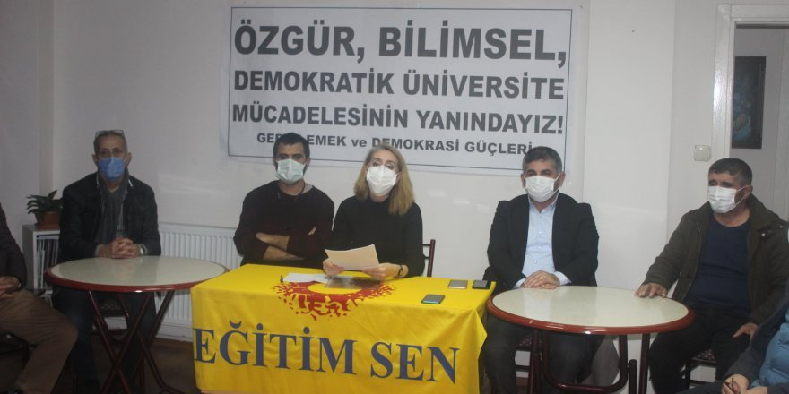 Gebze Emek ve Demokrasi Güçleri, Boğaziçi Üniversitesi'ne rektör atanmasını kınadı
