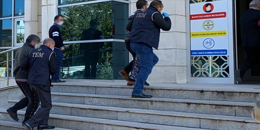 Kırşehir'deki DEAŞ operasyonunda yakalanan 24 şüpheli adliyeye sevk edildi