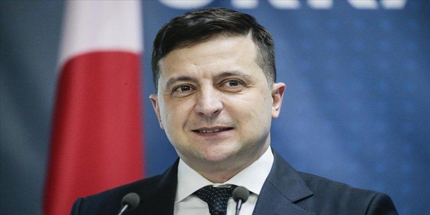 Zelenskiy'den Libya'da alıkonulan Ukraynalı denizcilerin tahliyesi için Cumhurbaşkanı Erdoğan'a teşekkür