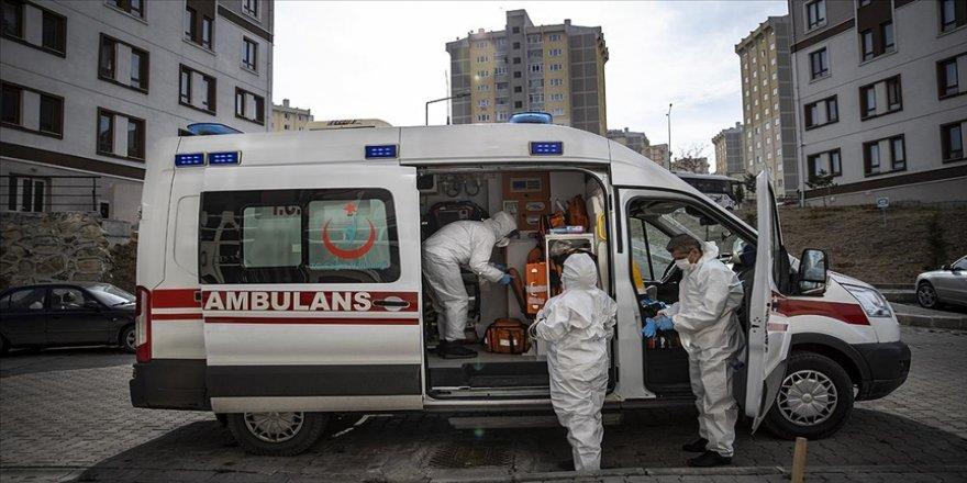 Kovid-19 sürecinde 112 Acil ekipleri halk sağlığı için durmadan çalışıyor
