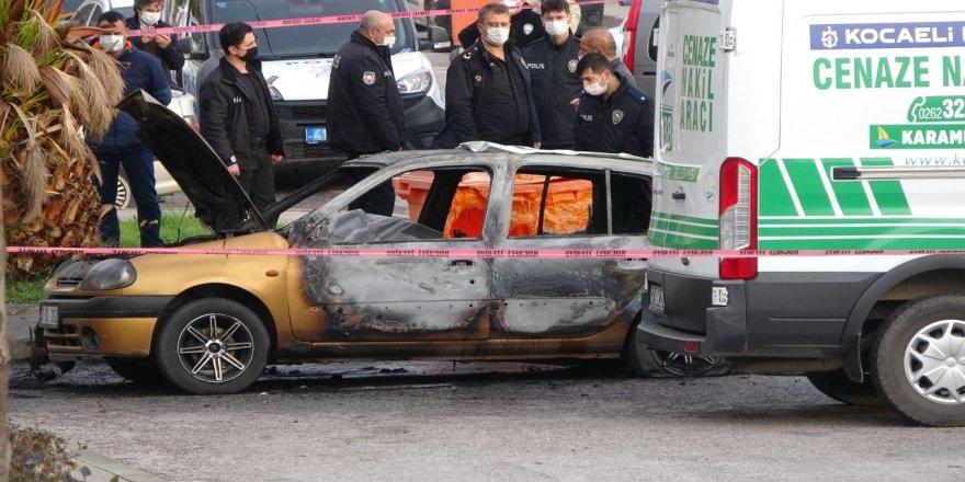 Aracı patlayan genç yanarak can verdi