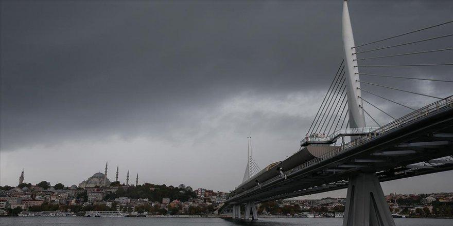 Marmara Bölgesi'nde yarın kuvvetli yağış bekleniyor