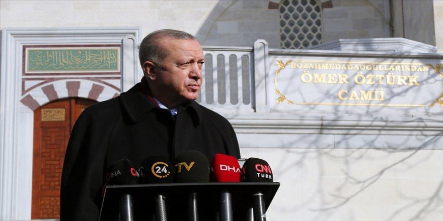 Cumhurbaşkanı Erdoğan: Amerika'daki bu süreç gerçekten tüm insanlığı şok etmiştir