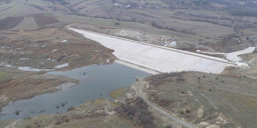 Samsun'da Fındıcak Barajı ile 8 bin 850 dekar tarım arazisi sulanacak