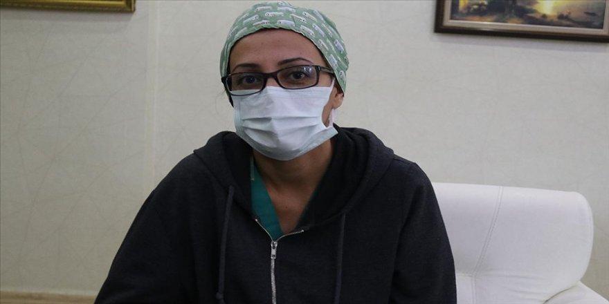 Diyarbakır'da sağlık çalışanı 4 ayda 2 kez Kovid-19'u yenmeyi başardı