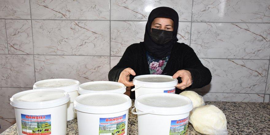 'Genç Çiftçi Projesi' sayesinde kendi işletmesini kuran kadın üretici herkese örnek oluyor