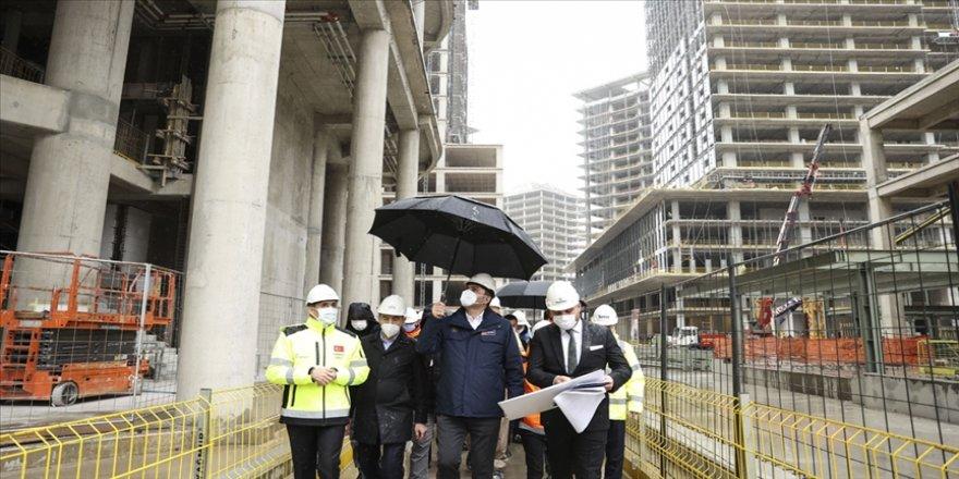 Bakan Kurum: İstanbul Finans Merkezi Projesi yüzde 60 seviyesine gelmiş durumda
