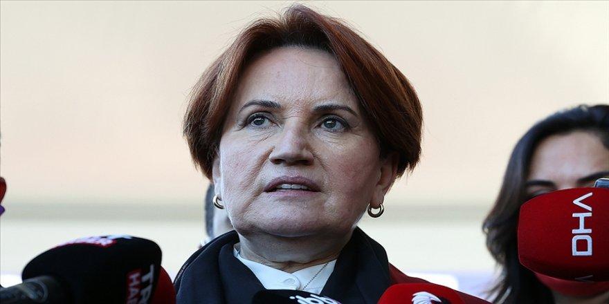 İYİ Parti Genel Başkanı Akşener: Türkiye'nin çıkışı 'İyileştirilmiş ve güçlendirilmiş parlamenter sistem'dedir