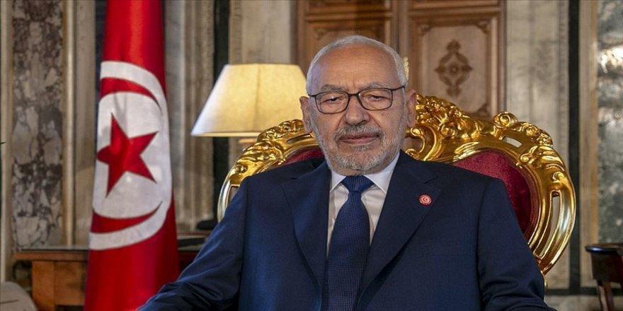 Tunus Meclis Başkanı Gannuşi kabine değişikliği çağrısı yaptı