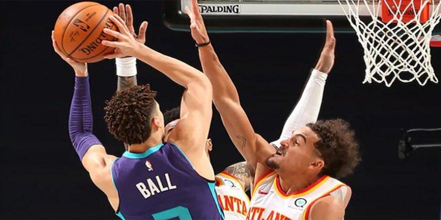 LaMelo Ball NBA'de 'triple-double' yapan en genç oyuncu rekorunu kırdı