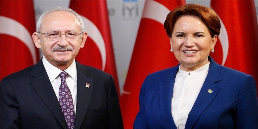 CHP ve İYİ Parti'den ortak açıklama: İttifak üyesi partilerimizin ilkeli ve kararlı yol yürüyüşü devam etmektedir