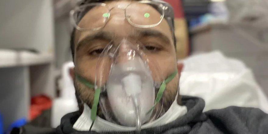 Koronavirüse yakalanan Okan Karacan hastaneye kaldırıldı