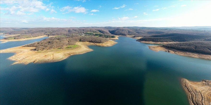 İki günlük yağış İstanbul'un barajlarına yüzde 2 katkı yaptı