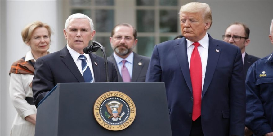 Trump ve Pence Kongre baskınının ardından ilk kez bir araya geldi