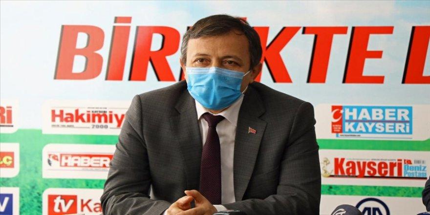 Erciyes Üniversitesinde Kovid-19 aşı adayının faz-2 çalışmalarına en geç ay sonunda başlanması planlanıyor