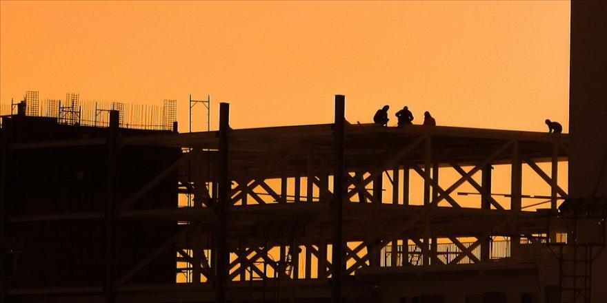 İnşaat maliyet endeksi Kasım 2020'de aylık bazda yüzde 2,9 arttı