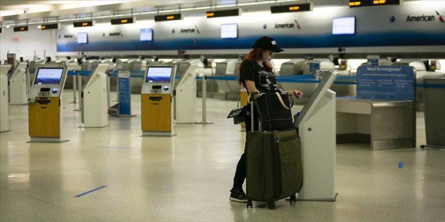 ABD'ye hava yoluyla gelen yolculara 26 Ocak'tan itibaren negatif Kovid-19 testi zorunluluğu getiriliyor