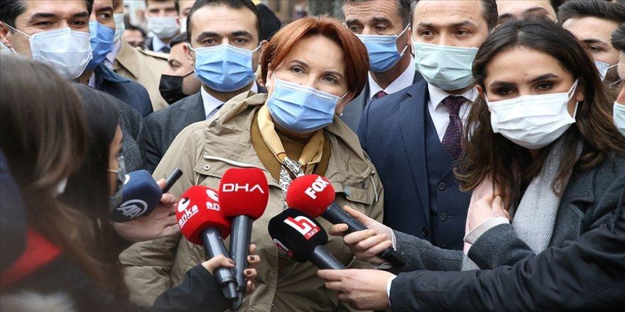 İYİ Parti Genel Başkanı Meral Akşener: Sayın Melih Bulu'nun yerinde olsam affımı isterdim
