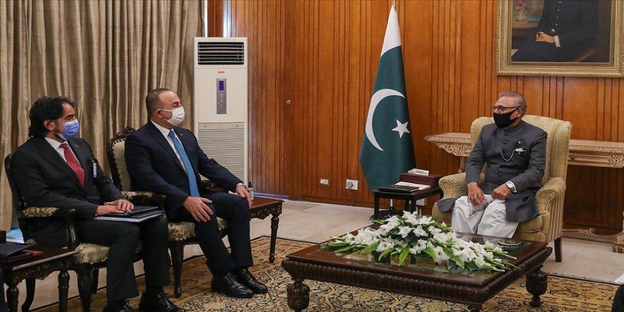 Dışişleri Bakanı Çavuşoğlu Türkiye-Pakistan ilişkilerinin daha da ilerletileceğini söyledi