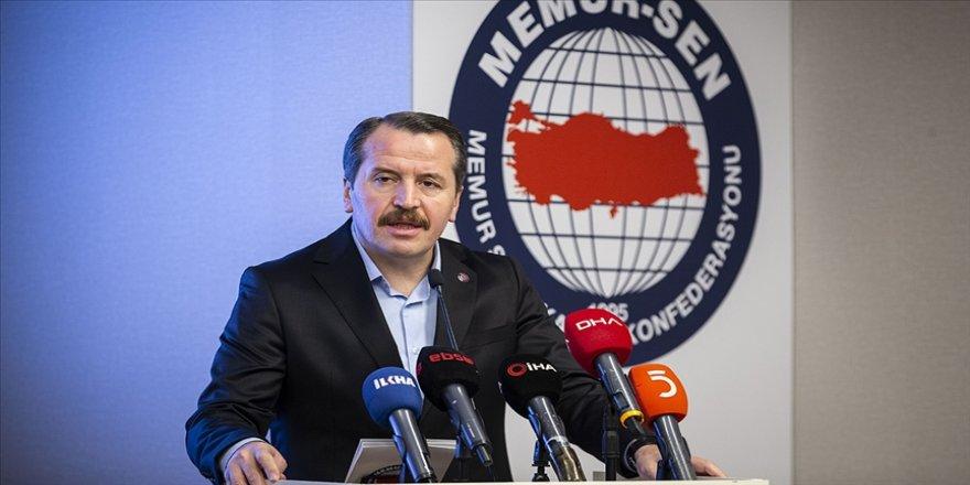 Memur-Sen seyyanen zam talebini Hazine ve Maliye Bakanı Elvan'a iletti